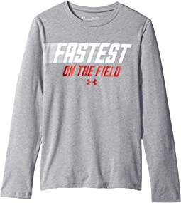 Fastest On The Field Long Sleeve Tee (Big Kids)