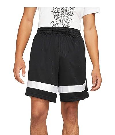 Nike Dry Asymmetric Curve Shorts (Black/White/Black/White) Men