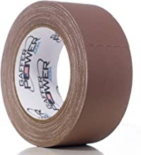 Real Professional Grade Gaffer Tape by Gaffer Power, Made in The USA, Heavy Duty Gaffers Tape, Non-Reflective, Multipurpose. (2 Inches x 30 Yards, Brown)