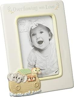 Precious Moments Overflowing with Love Noah's Ark Ceramic 4x6 Nursery Décor Photo Frame 173431