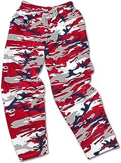 Zubaz Men's Officially Licensed NFL Camo Print Team Logo Casual Active Pants