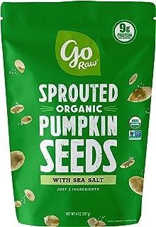 Sponsored Ad - Go Raw Pumpkin Seeds with Sea Salt, Sprouted & Organic, 14 oz. Bag | Keto | Vegan | Gluten Free Snacks | Su...