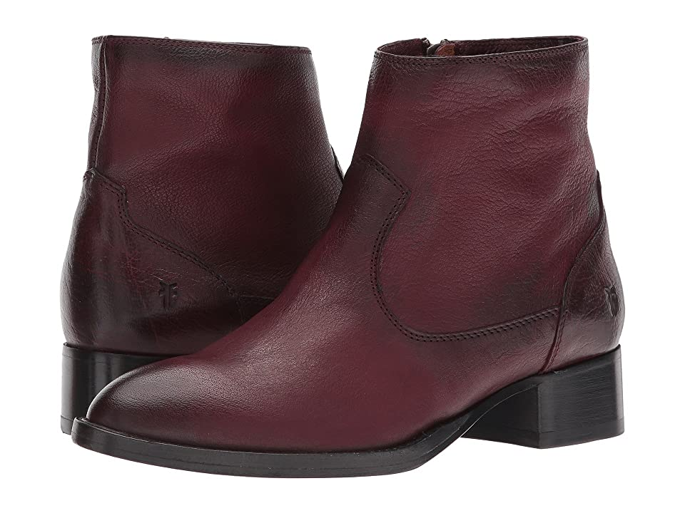 Frye Brooke Short Inside Zip (Wine) Women