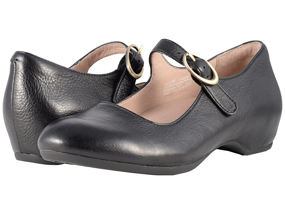 Dansko Linette (Black Milled Nappa) Women