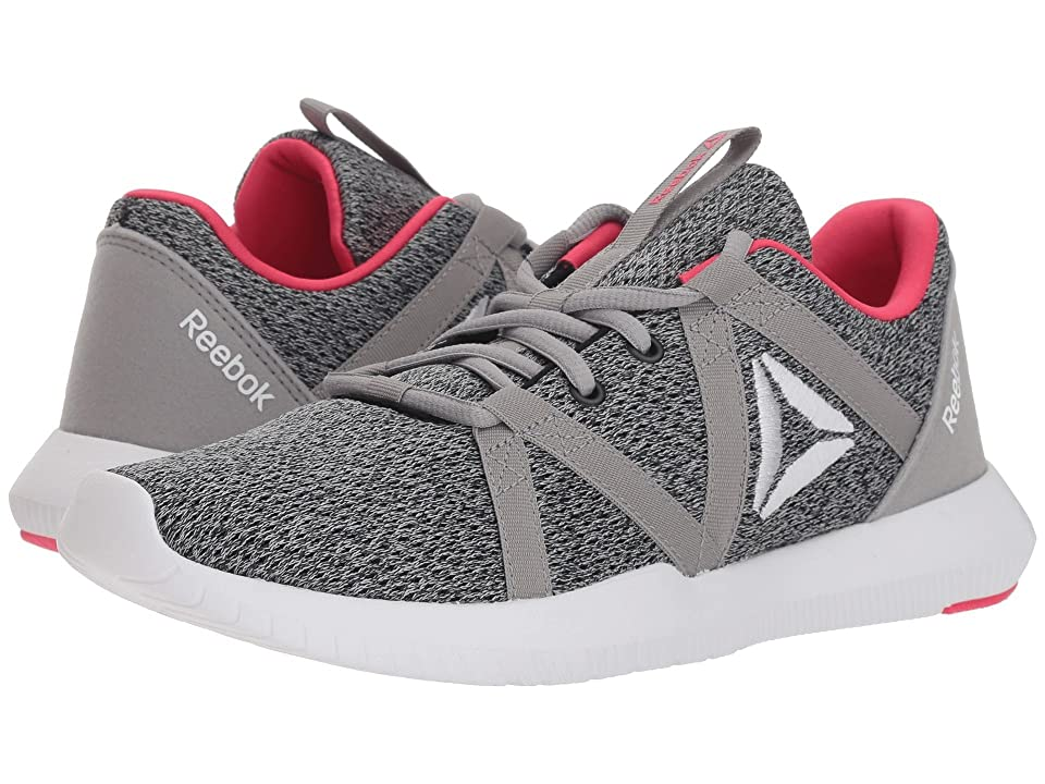 Reebok Reago Essential (Black/Medium Grey/White/Twisted Pink) Women