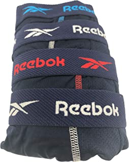 Reebok Men's 4 Pack Performance Boxer Briefs