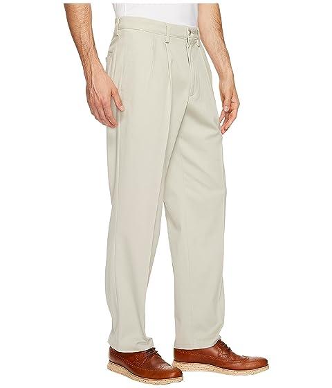 D3 Nube Easy pantalones plisado Classic Fit Khaki Dockers TxwUF
