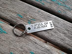 Hand-Stamped Keychain-