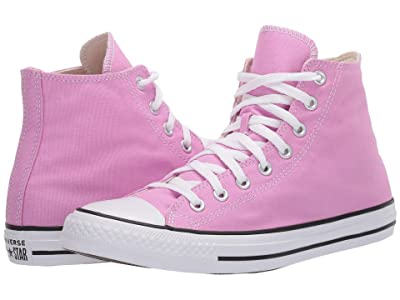 Converse Chuck Taylor All Star Seasonal Color Hi (Peony Pink) Lace up casual Shoes