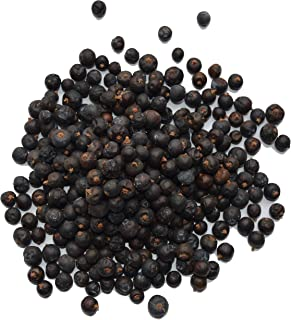 Juniper Berries 100% Natural – Perfect for gin, tea, cocktails and cooking (4 oz – 114 g)