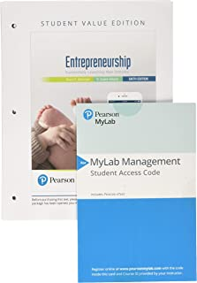 Entrepreneurship: Successfully Launching New Ventures, Student Value Edition + 2019 MyLab Entrepreneurship with Pearson eText -- Access Card Package (6th Edition)