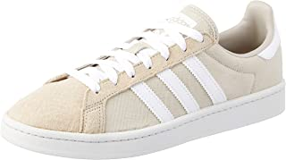 adidas, Campus Trainers, Men's Shoes,Black/White/ChalkWhite, 7 US