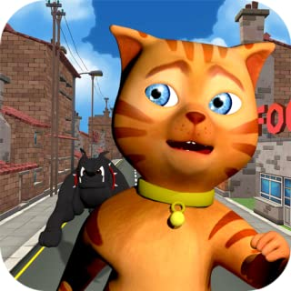 Cat Subway Run: Leo Cat vs Dog (Free)