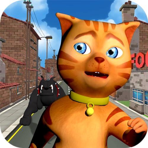 Cat Subway Run: Leo Cat vs Dog (Kostenlos)