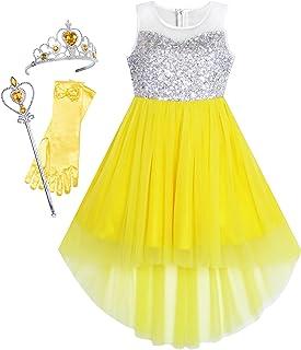 Ragazze abbigliamento vestendo Costumi Scuola Libro Settimana Princess Fancy Dress LIBRO giorno