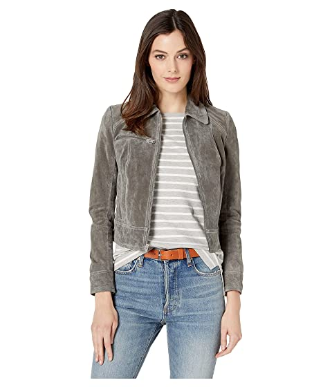 c2974234fef Marc New York by Andrew Marc Ripley Suede Trucker Jacket w  Front ...