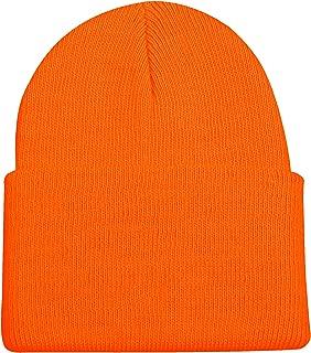 Outdoor Cap Blaze Orange Knit Watch Cap with Cuff
