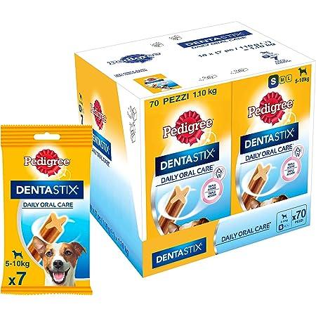 Pedigree Dentastix Small Breed (5-10 kg) Oral Care Dog Treat (Chew Sticks) 10 Packs (10 x 110g)