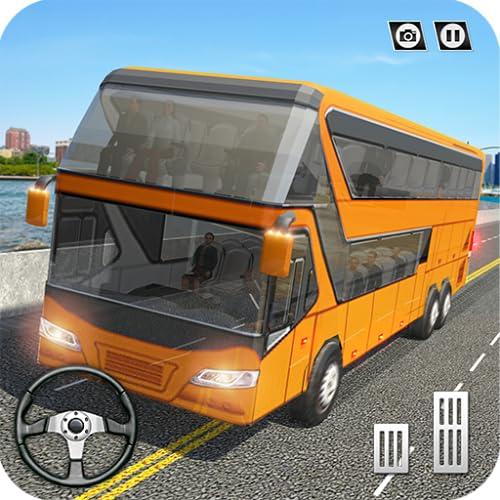 Coach Bus Simulator 2018 - Next-Gen City Bus Driving School Test 3D