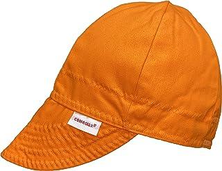 Comeaux Caps Reversible Welding Cap Solid Orange Size 6 7/8