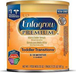 美贊臣Enfagrow 嬰幼兒過渡階段 2段配方奶粉 20盎司(567g)/罐