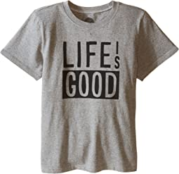 Life Is Good Block Crusher™ Tee (Little Kids/Big Kids)
