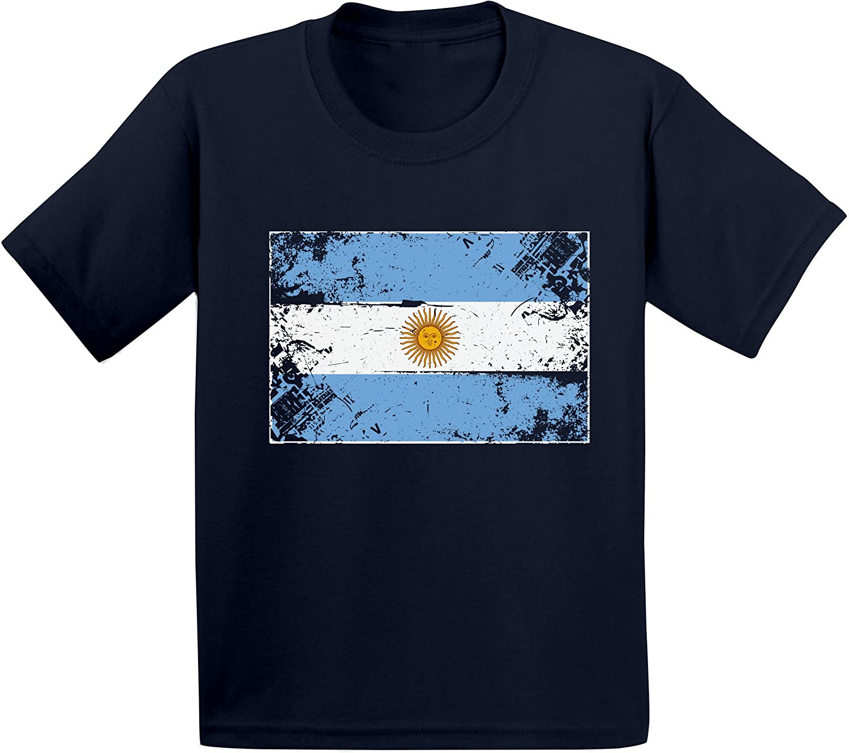 Awkward Styles Argentina Flag Shirts for Boys Girls Kids Argentina Tshirt Gifts