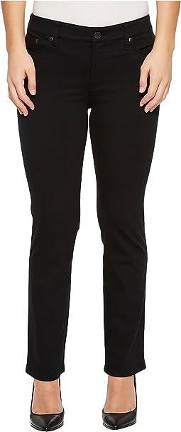 Petite Modern Straight Curvy Jeans