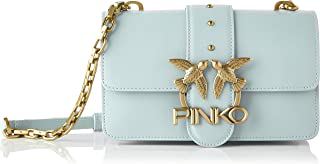 Pinko, Love Mini Icon Simply 5 CL Vit para Mujer, Talla única