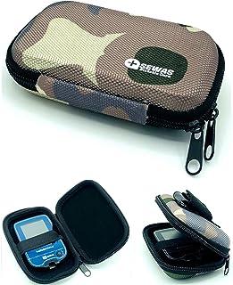 Funda rígida para medidor Freestyle Libre 1 & 2, riñonera para medidor de azúcar en sangre, funda para diabéticos, camuflaje