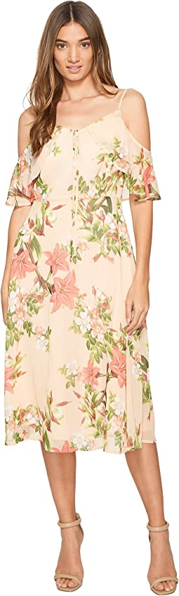 CeCe - Alice - Cold Shoulder Floral