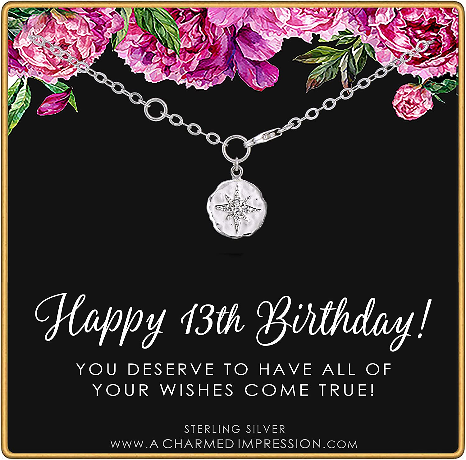 Selling rankings 13th Birthday • Gifts for Sterling Girls Teen Silver Financial sales sale
