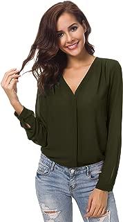 Best olive green sheer shirt Reviews