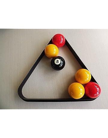 Amazon.es: Triángulos y estantes para bolas - Billar: Deportes y aire libre