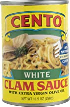 Cento White Clam Sauce, 10.5 Ounce Cans (Pack of 12)