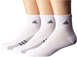adidas quarter socks. adidas - climacool® superlite 3-pack quarter socks
