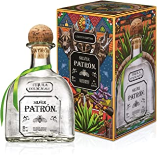 Patrón Silver Tequila in Metallbox limitierte Edition 1 x 0.7 l