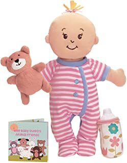 """Best Manhattan Toy Wee Baby Stella Sleepy Time Scents Soft Doll Set, 12"""" Review"""