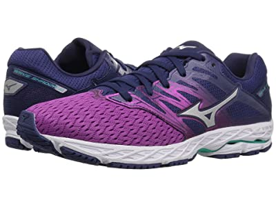 Mizuno Wave Shadow 2 (Purple Wine/Patriot Blue) Girls Shoes
