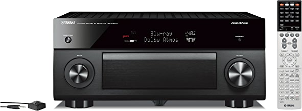 Yamaha AVENTAGE Audio & Video Component Receiver, Black (RX-A3070BL), Works with Alexa