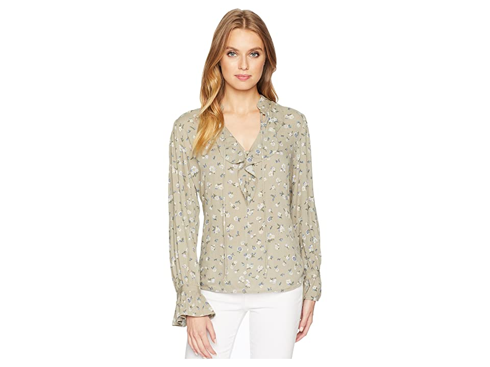 Image of AG Adriano Goldschmied Celeste Top (Patchouli Multi) Women's Clothing