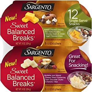 Sargento Sweet Balanced Breaks Snacks (12 ct.) (pack of 2)