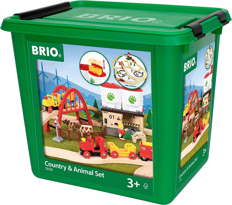 Brio 33135103 Groes Countryside Set mit Silo [Spielzeug] [Spielzeug]
