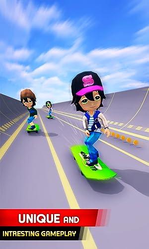 『Skater Race! Turbo Rush - Skateboard Stars Racing Game』の3枚目の画像
