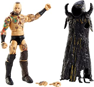 WWE Aleister Black Elite Collection Action Figure, 6-in/15.24-cm Posable Collectible Gift for WWE Fans Ages 8 Years Old & Up