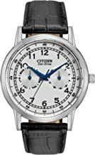 Citizen Men's Eco-Drive Stainless Steel Casual Watch with Day/Date, AO9000-06B