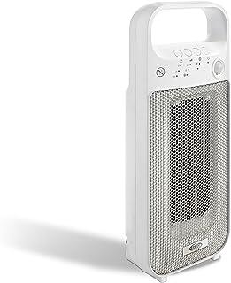 Argoclima DREAM, Calefactor Cerámico Digital, Diseño de Torre, Color Blanco y Gris
