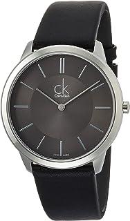 [カルバンクライン]CALVIN KLEIN 腕時計 Minimal(ミニマル) レザーウォッチ ジェント K3M211C4 メンズ 【正規輸入品】