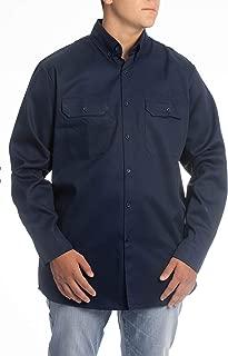 8.1 oz FR Shirt For Men - Fire Resistant Shirt - Work Shirt - Welding Shirt - FR Clothing For Welders & Electricians