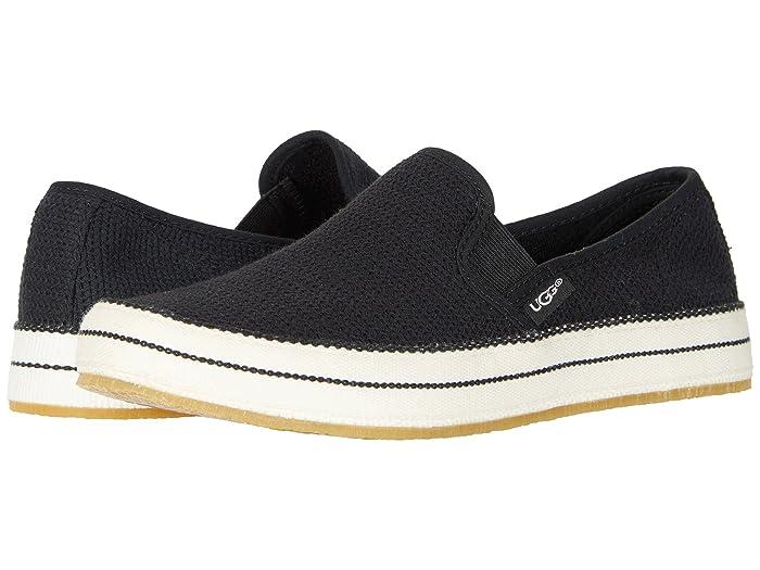 UGG  Bren (Black) Womens Slip on  Shoes